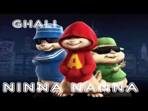Ghali ninna nanna(chipmunks)