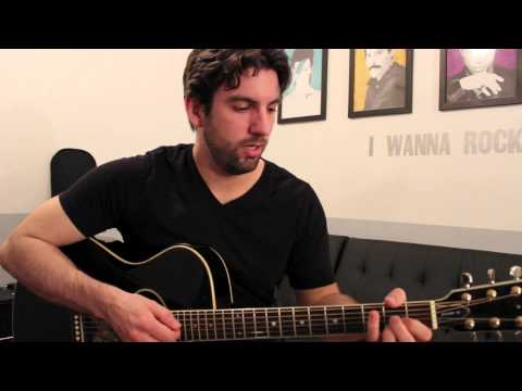 Kina Grannis - Valentine (Guitar Chords & Lesson) by Shawn Parrotte