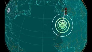 EQ3D ALERT: 1/24/16 - 5.2 magnitude aftershock earthquake in the Alboran Sea