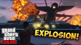 GTA 5 Online: SUPERYACHT EXPLODIERT !!! | JanneMann