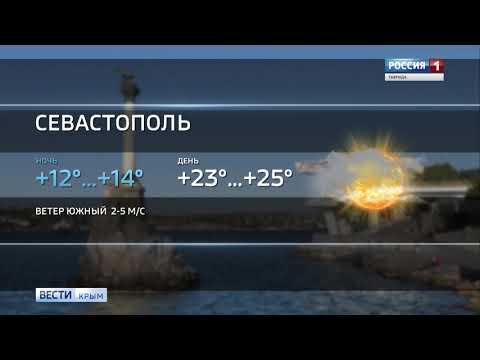 В Крыму ожидается сухая и тёплая погода