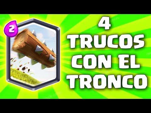 4 Trucos con el Tronco que te haran ganar partidas - Clash Royale | Pepegames