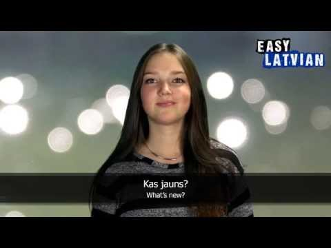 10 phrases to greet people in Latvian - Easy Latvian Basic Phrases (1)