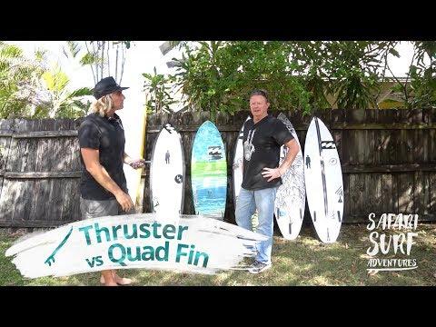Surf Equipment | FIN SET-UP
