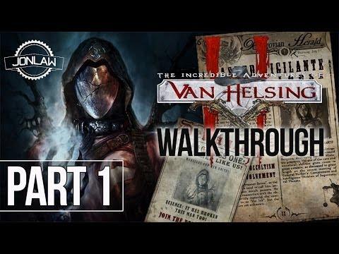 The Incredible Adventures of Van Helsing 2 Walkthrough - Part 1 PRISONER SEVEN Gameplay