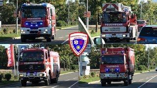 🚒 MTW + HLF 20 + DLK 23/12 + TLF 24/50 + TLF 16/24 + GW-L + VRW + 2x KLF Feuerwehr Zeulenroda
