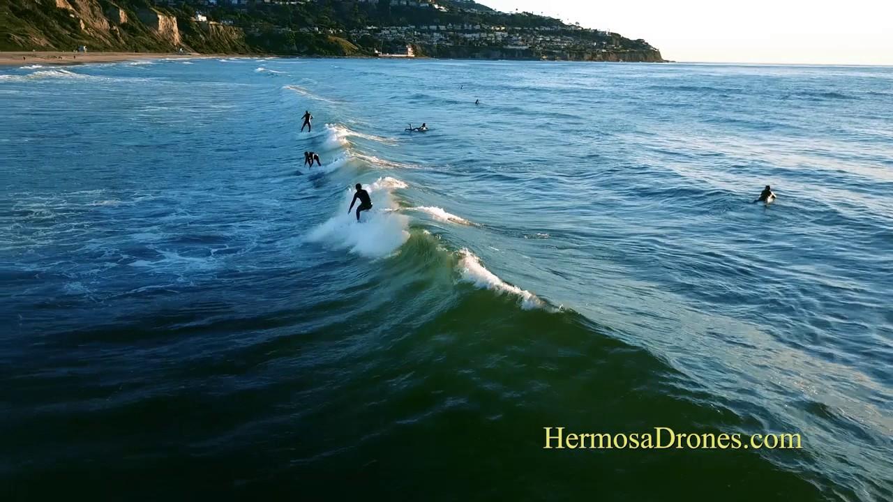 Torrance Beach Surfing Dji Mavic Pro