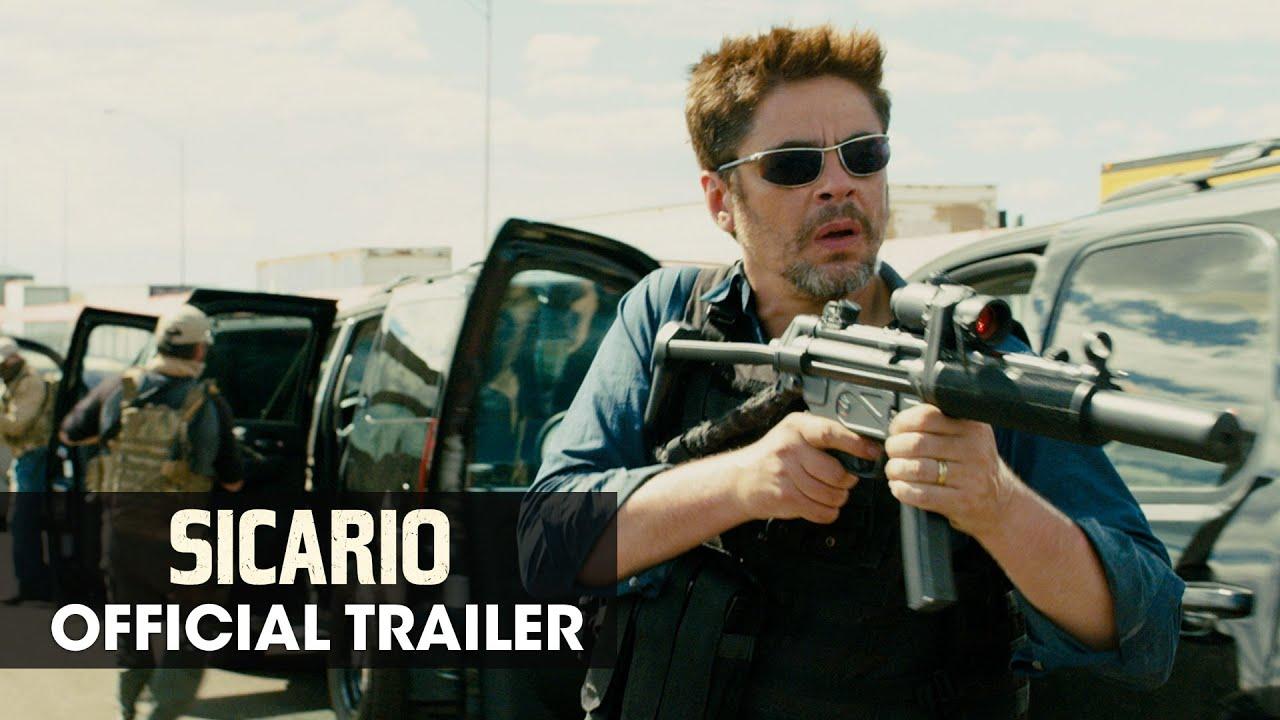 "Sicario (2015 Movie - Emily Blunt) Official Trailer – ""Hitman"""