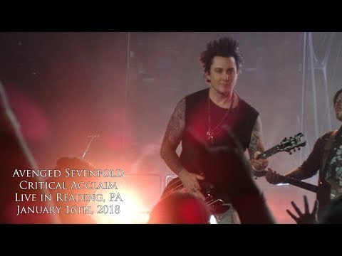 Avenged Sevenfold - Critical Acclaim (Live in Reading, PA 1-16-18)