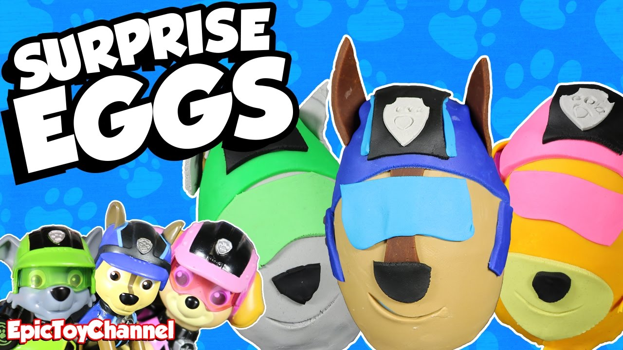 PAW PATROL Mission Paw Sweetie Surprise Eggs of Chase