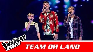 "Birk, Niklas & Esmaralda (Team Oh Land) | ""Blind Igen"" af Karl William 