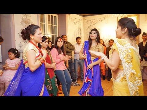 Nepalese Student Community (Nesco) Dashin celebration 2072 in Oslo, Norway