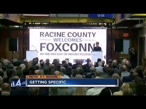 Foxconn announces Mount Pleasant location