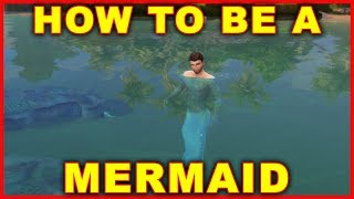 Sims 4 Island Living: How to Become a Mermaid