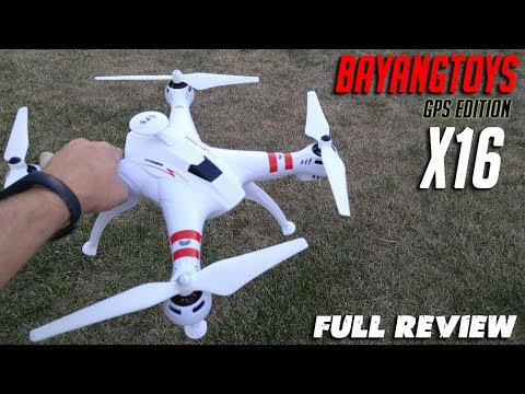 Bayangtoys X16 Brushless GPS Drone Review with Yi Cam footage.  Best Cheap GPS Drone??