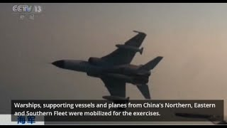 China navy conducts drill in South China Sea