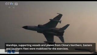 China navy conducts drill in South China Sea