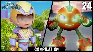 Vir: The Robot Boy & Rollbots | Compilation 24 | Action show for kids | WowKidz Action