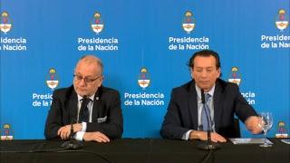Conferencia de prensa de los Ministros Jorge Faurie y Dante Sica