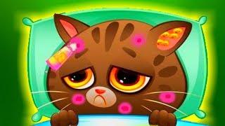 КОТЕНОК БУБУ  мультфильм про котиков новое обновление Рождество и Новый Год смешной кот
