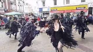 Beltane dance Brimfield at Teignmouth triangle