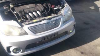 Видео-тест автомобиля Toyota Corolla Fielder (серебро, ZZE123, 2ZZ-GE, 2001)