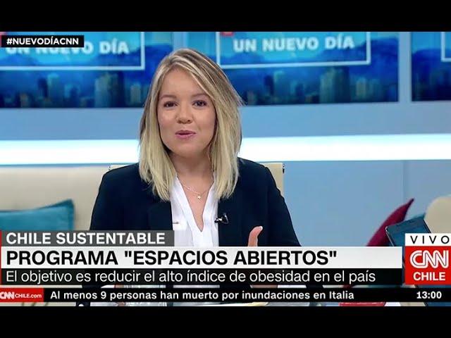 Cata Droguett CNN - Programa espacios abiertos