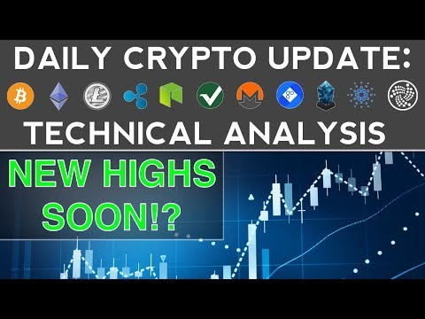 CRYPTOS BOUNCE! BACK TO NEW HIGHS SOON? (12/15/17) Daily Update + Technical Analysis