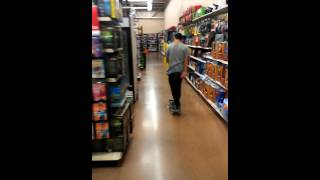 Walmart tre while stoned