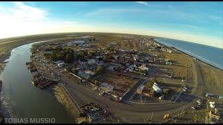 Rawson Chubut - Playa Unión - Drone - 2015