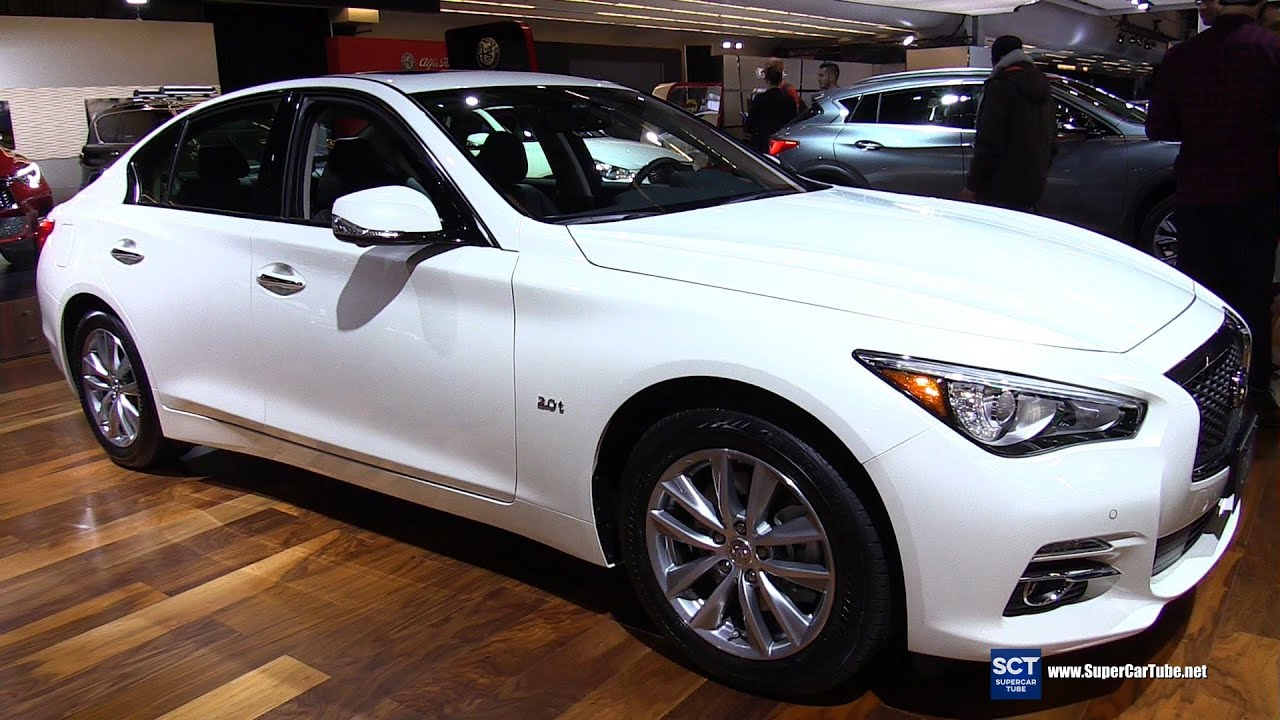 2016 infiniti q50 awd exterior and interior walkaround 2016 montreal auto show youtube. Black Bedroom Furniture Sets. Home Design Ideas