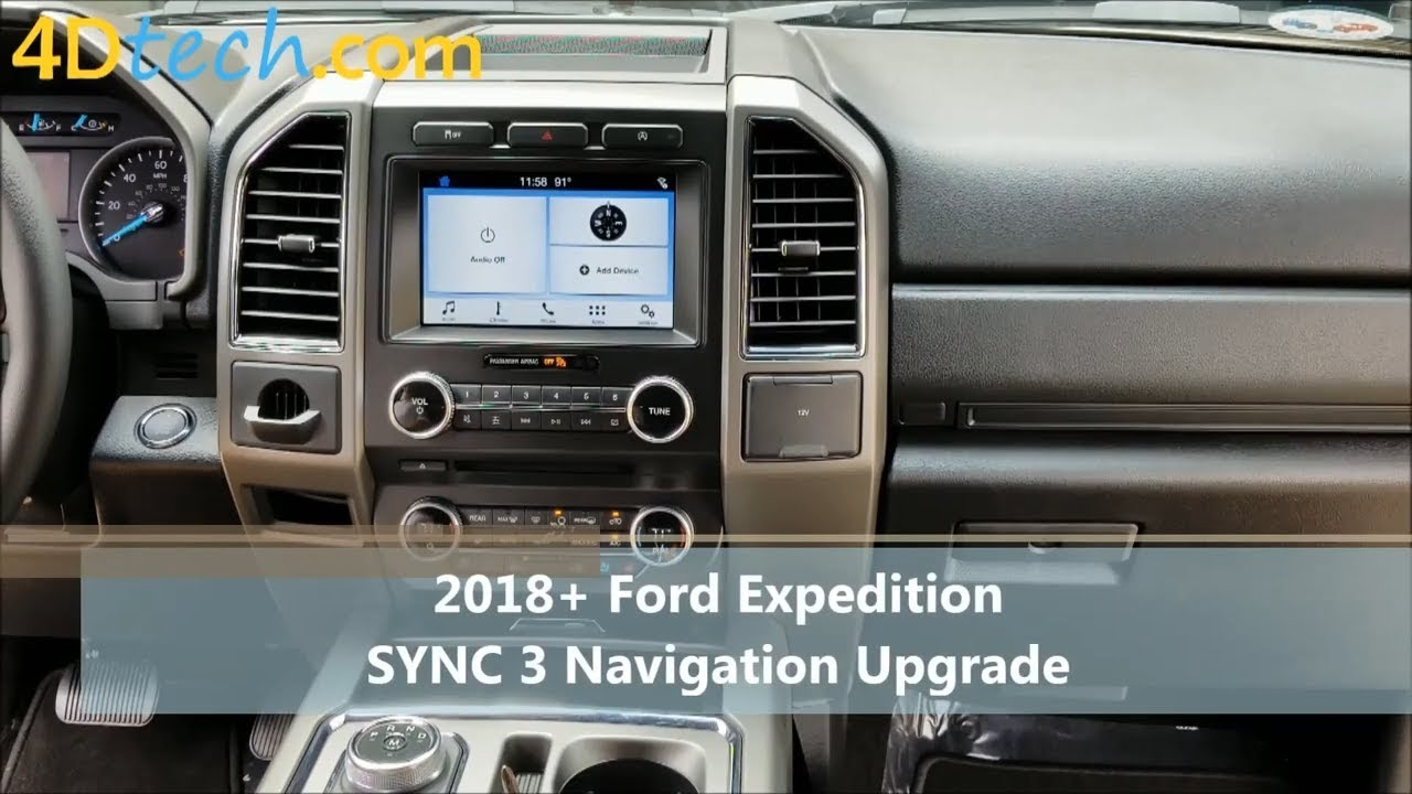 Add Factory Navigation to SYNC 3 | 2018+ Expedition