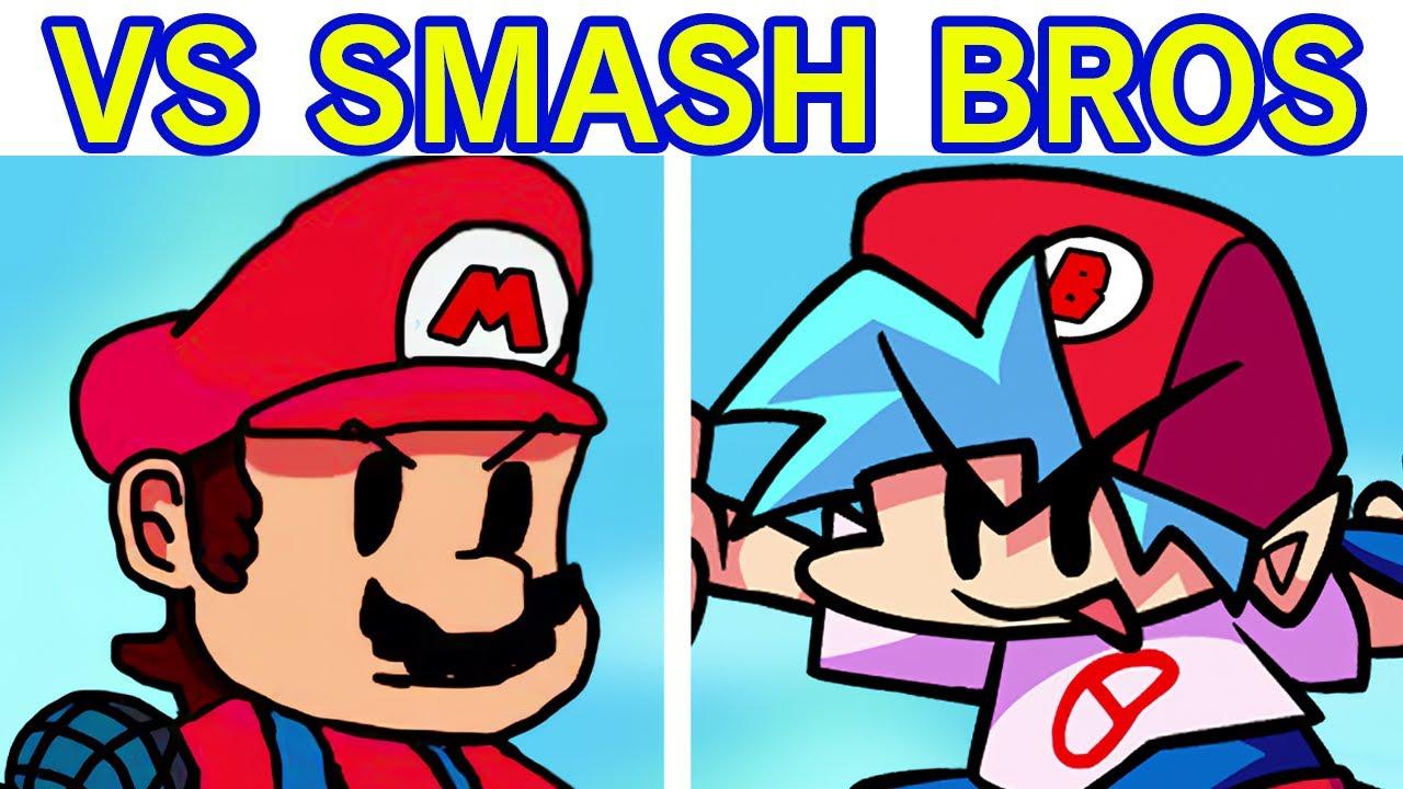 Friday Night Funkin' - VS Super Smash Bros FULL WEEK + Cutscenes (FNF Mod/Hard) (Smash Bros x FNF)