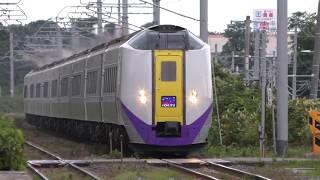 特急スーパー北斗 キハ261 新色8両+旧色1両