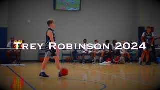 Trey Robinson one of the top shooter's in class of 2024.