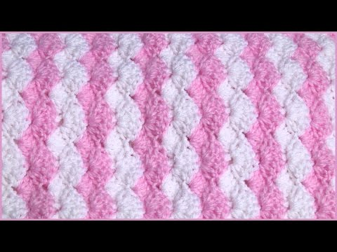 how-to-crochet-a-baby-blanket-using-a-shell-stitch