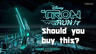 TRON RUN/r Review - Should you buy this game?