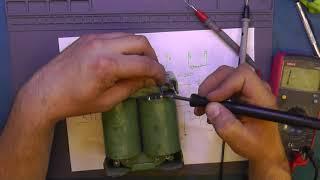 Понижающий трансформатор на 110 вольт.