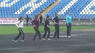 Уроки фізичного виховання. Стадіон