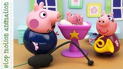 The Noisy Night peppa pig stop motion animation new episodes 2018