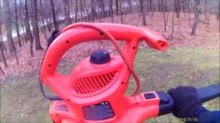 Black and Decker 12amp 250mph Leaf Blower/Vacumn/Mulcher