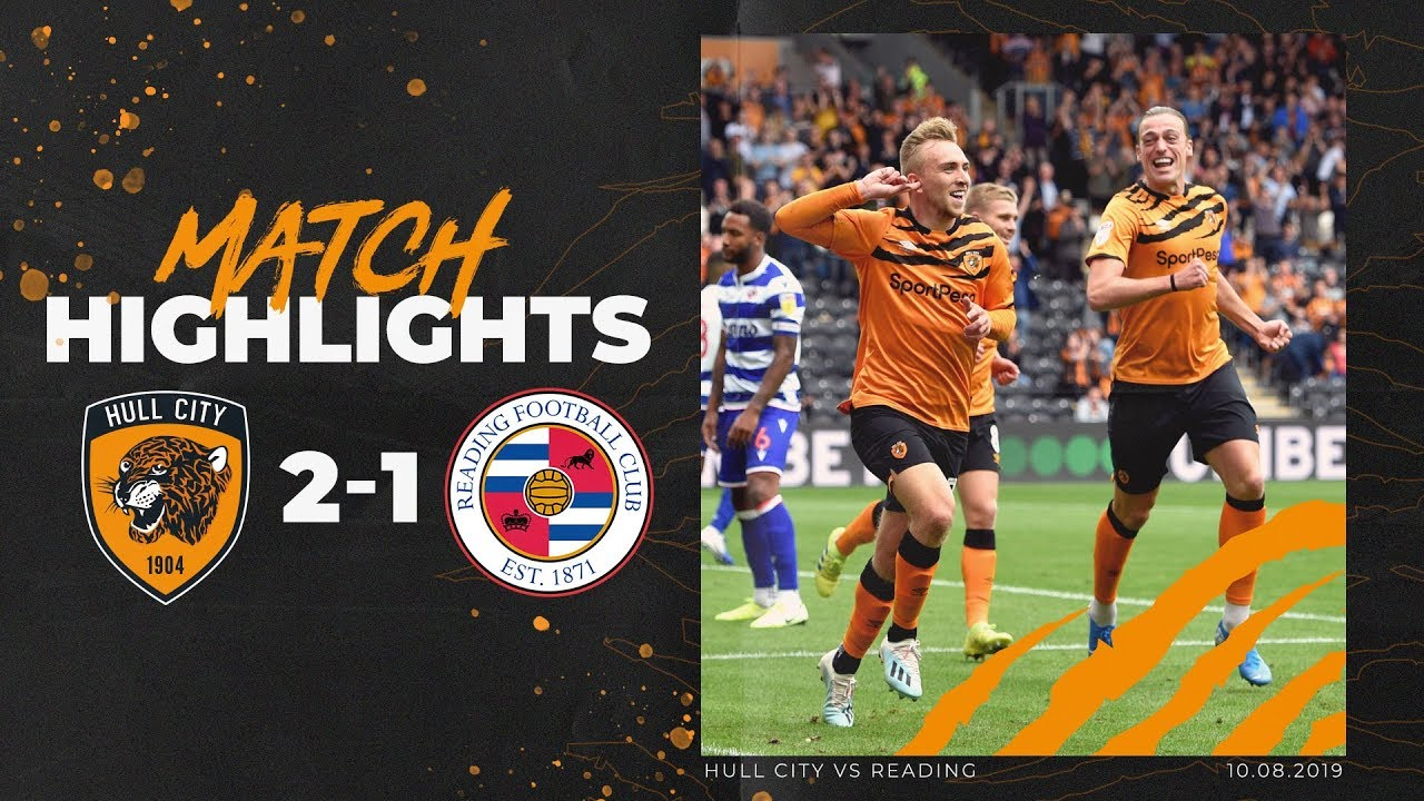 Hull City 2 1 Reading Highlights Sky Bet Championship Youtube