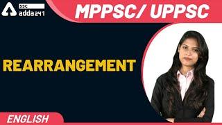 MPPSC/ UPPSC | English | Rearrangement