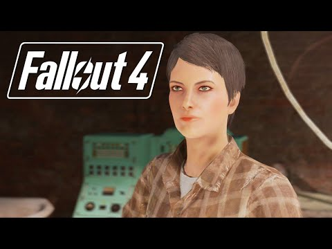 Fallout 4: Curie Romance Complete All Scenes(Miss Nanny/Synth)