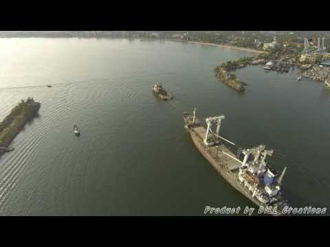 Lanka Muditha Towing -By Tango Shipping Agency aerial view