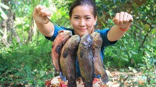 Cooking Technique: Roasted Fish With Sour Sauce In My Village