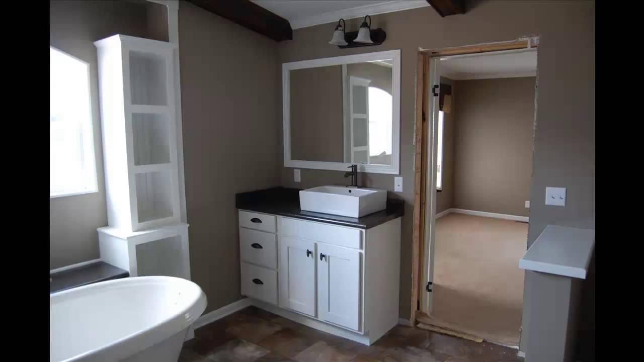 Calvin Klein Homes Mobile Home X Theatre House Covington - Mobile home bathroom cabinets
