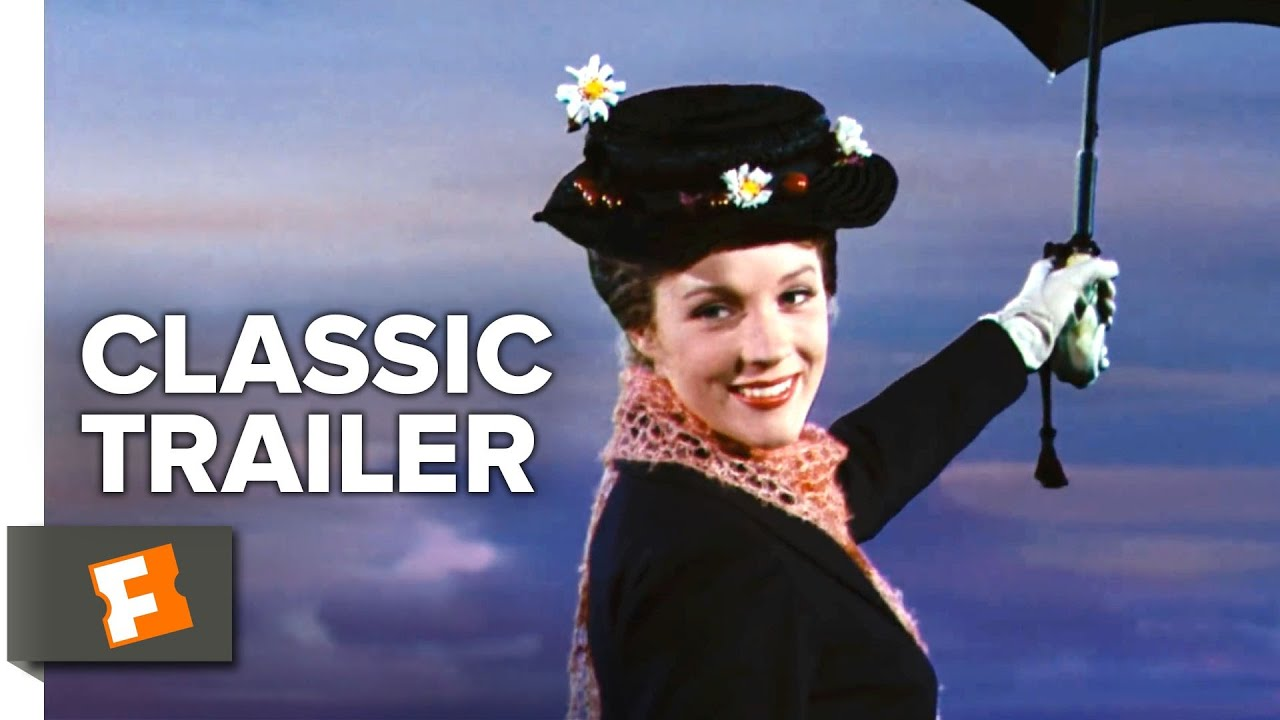 Mary Poppins 1964 Trailer 1 Movieclips Classic Trailers Youtube