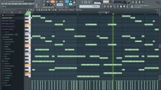 Alan Walker - Alone (Piano Cover) FL Studio