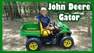John Deere Gator Ride-On Unboxing and Review